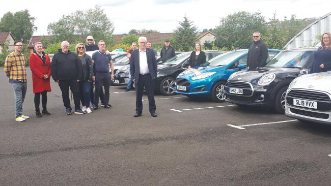 MP Douglas Chapman met with angry driving instructors on Friday last week at the Vine Centre.