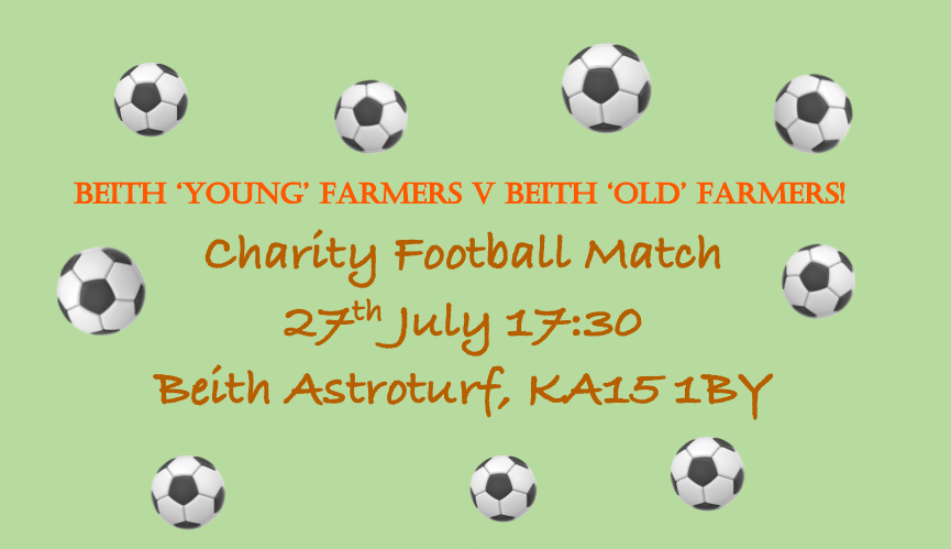 Beith Young Farmers' Charity Football Match