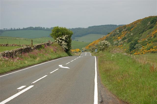 The A909 road in West Fife has been named as one of the most dangerous in the UK.