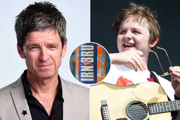 Irn-Bru 'cancel' Noel Gallagher after he branded Scotland 'third world country' in Lewis Capaldi spat