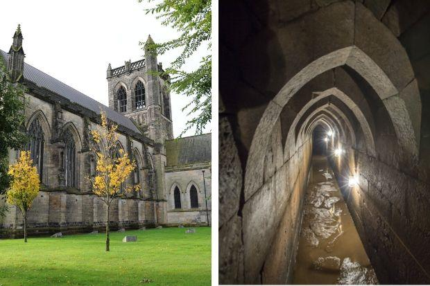 Centuries-old perfectly-preserved tunnel mystery under Paisley Abbey solved
