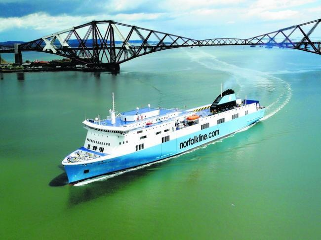 he Rosyth to Zeebrugge passenger ferry service stopped in 2010.