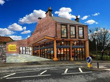The Alhambra Theatre Tust have submitted fresh plans for the Ironmongers Studio in Dunfermline.