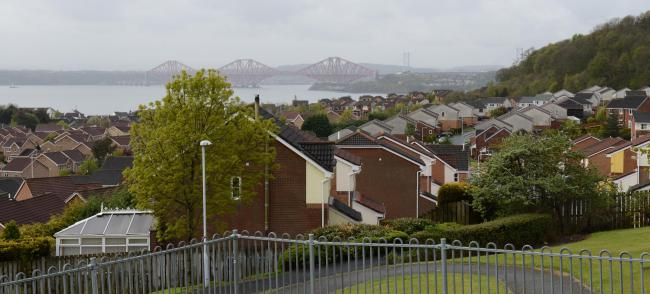 The attacks were carried out in Dalgety Bay