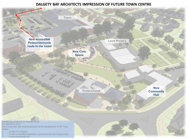 Plans take shape for Dalgety Bay town centre