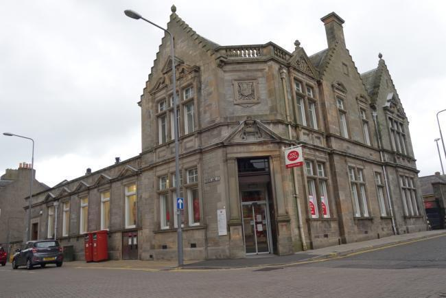 As it was. The Dunfermline Post Office has been sold and is set to become licensed premises, offering food and drink, entertainment and accommodation.
