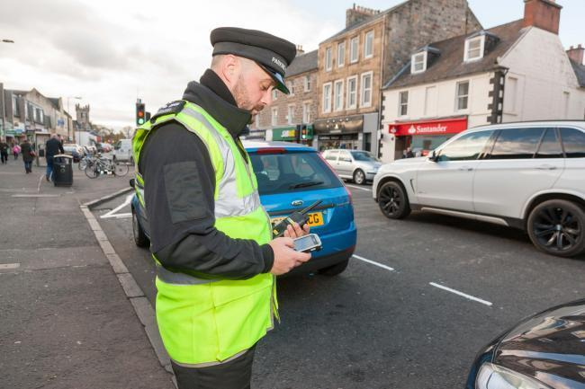 More than 5,000 parking fines were issued in Dunfermline.