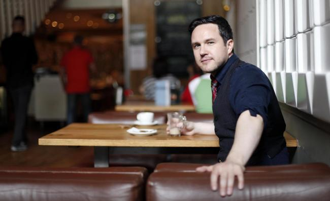Alan Bissett. Photo: Mark Mainz.