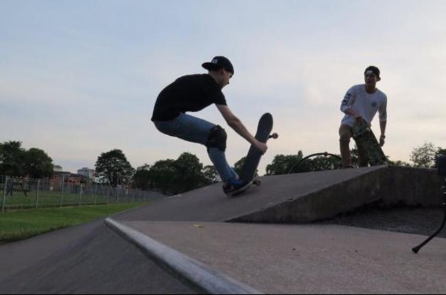 Hamish backs new skatepark to ramp up the fun in Dunfermline