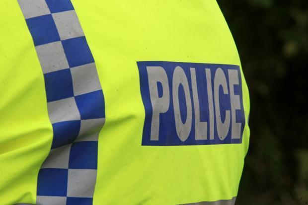 A Blairhall motorist has been fined after failing to stop after a car crash in the village.