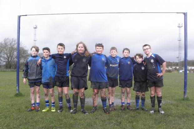 Dunfermline Rugby Club's P7 team. Photo: Dunfermline Rugby Club.