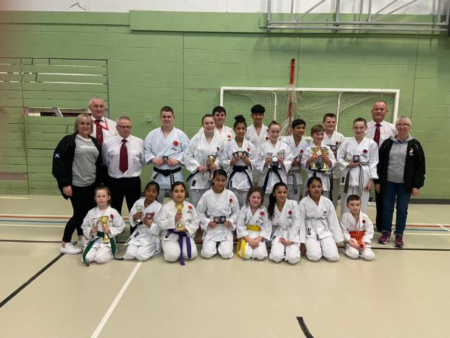 Students with Carnegie Dojo had hoped to attend the JKA Karate World Championship in October.
