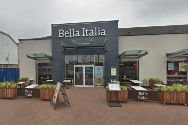 The owners of Bella Italia, which has a restaurant at the Fife Leisure Park in Dunfermline, are in financial trouble.