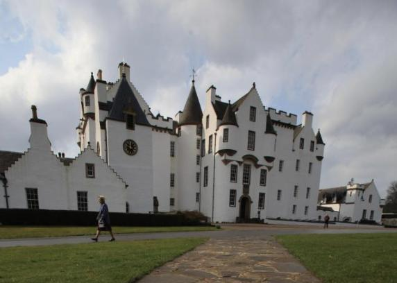 Dunfermline Press: Blair Castle in Perthshire
