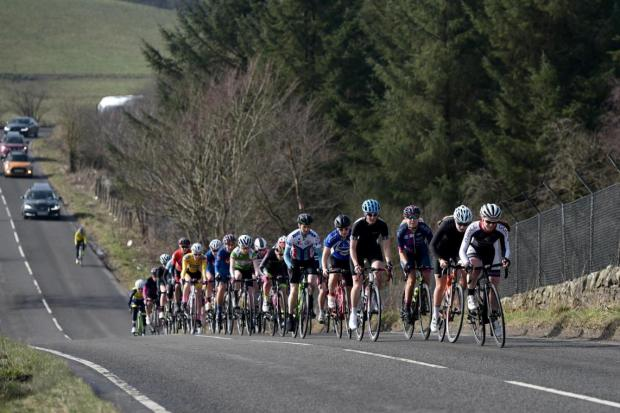 Dunfermline Cycling Club's 'Tour of the Kingdom Sportive' is one of the events cancelled due to the pandemic. Photo from a previous event. Photo by Jim Payne.