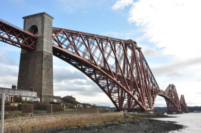 A body was found close to the Forth Bridge this morning.
