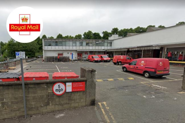 Workers at the Royal Mail delivery office in Dunfermline were informed of the positive coronavirus test on Monday morning.