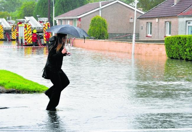 A report into the serious flooding that hit Fife in August has omitted incidents in Rosyth for a second time.