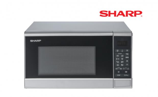Dunfermline Press: Sharp Microwave. (Lidl)