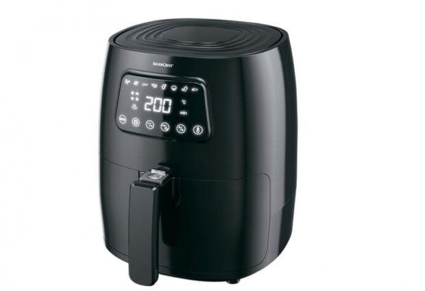 Dunfermline Press: Silvercrest Digital Air Fryer. (Lidl)