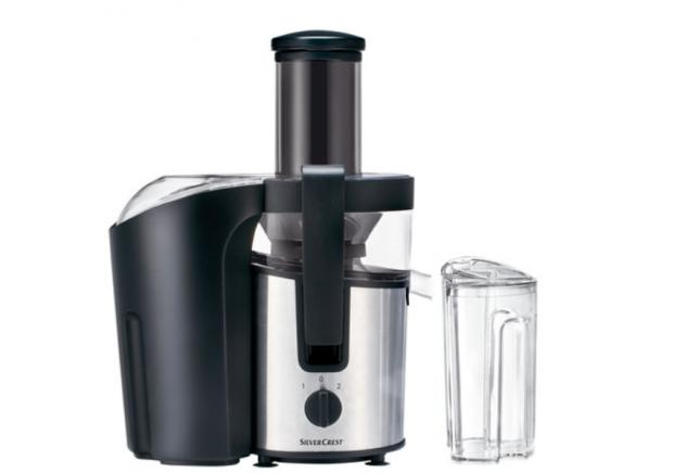 Dunfermline Press: Silvercrest Electric Juicer. (Lidl)