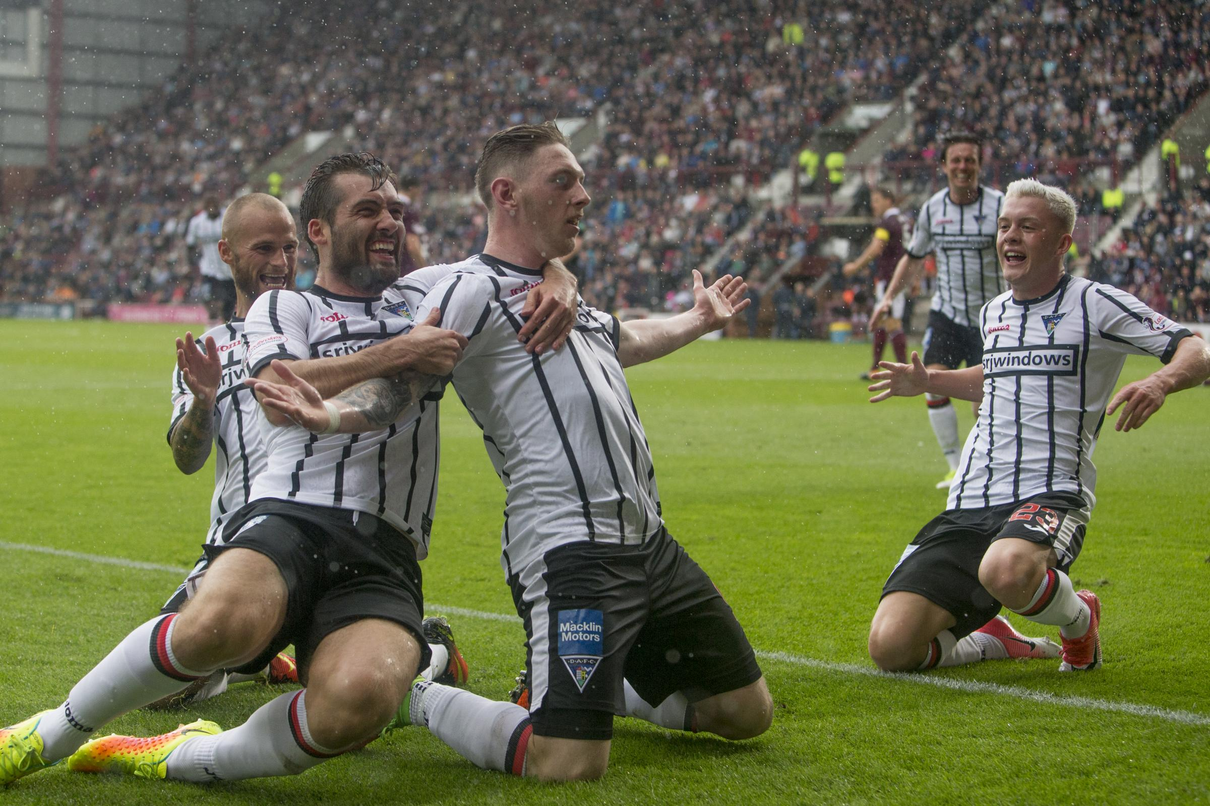 Ahead of Hearts v Dunfermline, we look at previous games