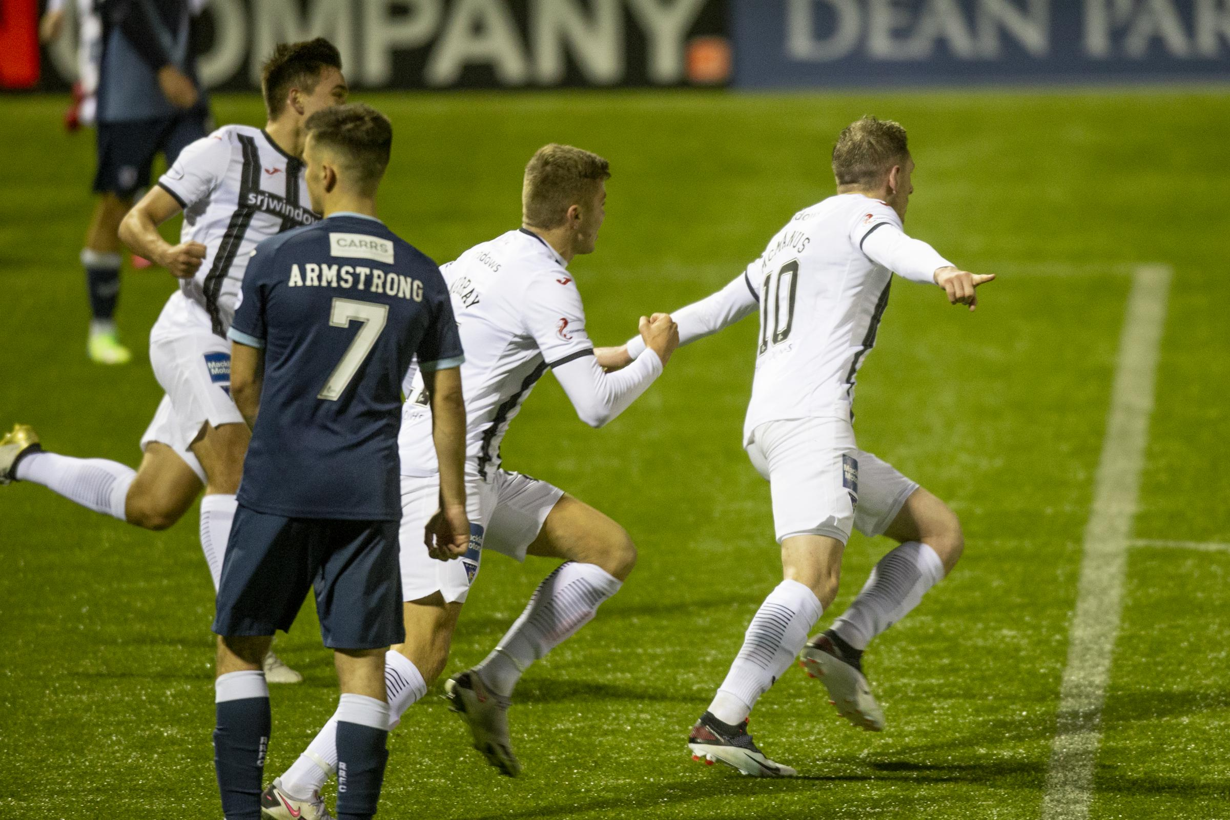 Dunfermline defeat Raith Rovers in SPFL Championship