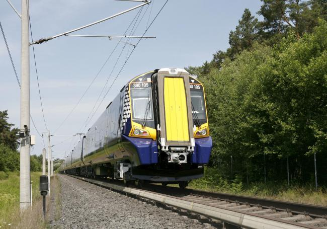 Network Rail said they are looking at a range of options for enhancing the line between Alloa and Longannet.