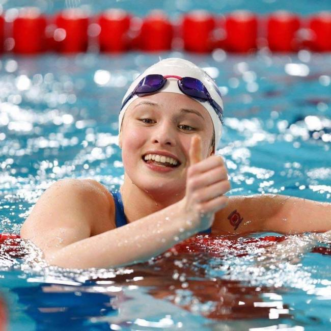 Emma Russell enjoyed a successful meet at the British Swimming Selection Trials.