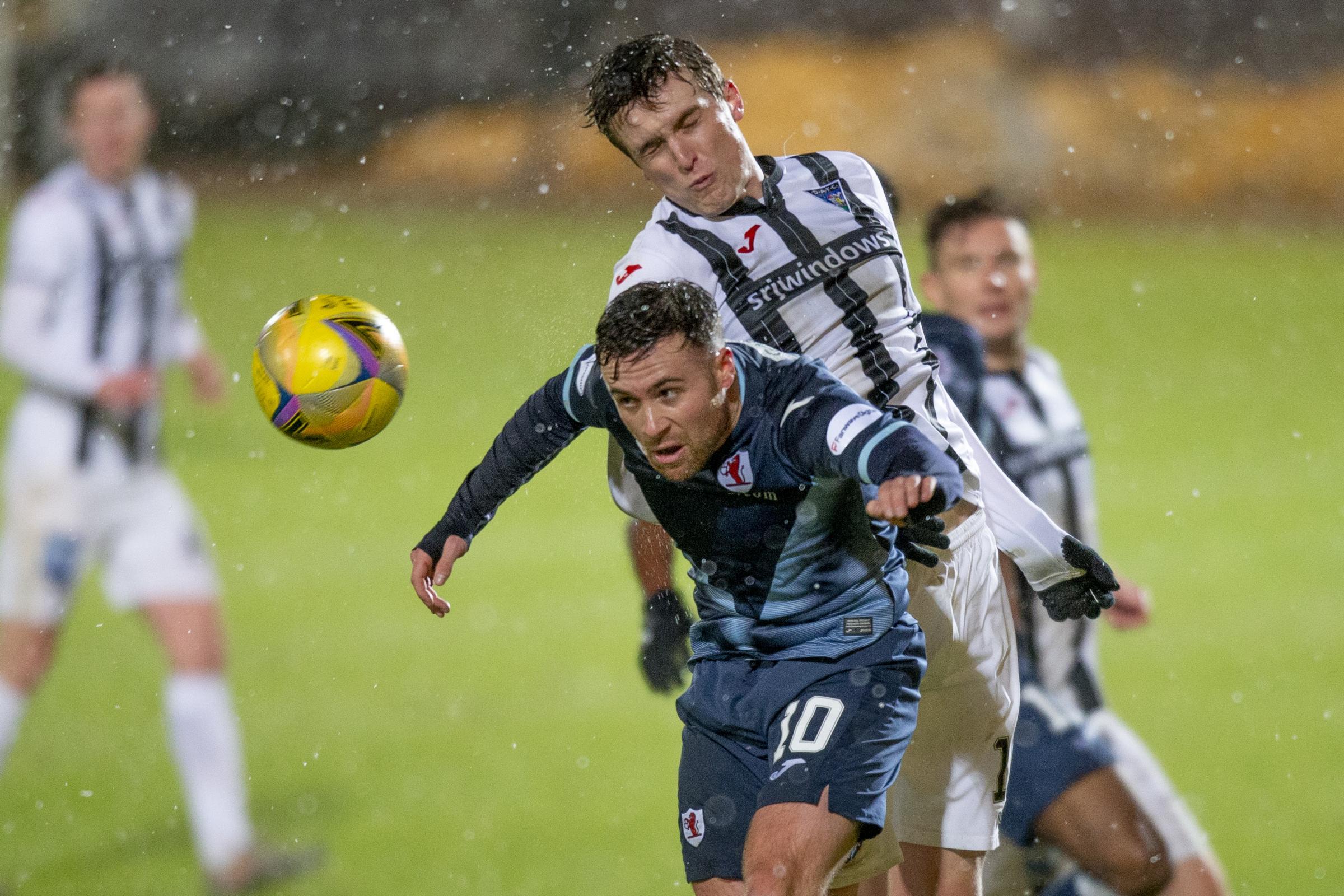 Stevie Crawford looks ahead to Dunfermline Raith Rovers
