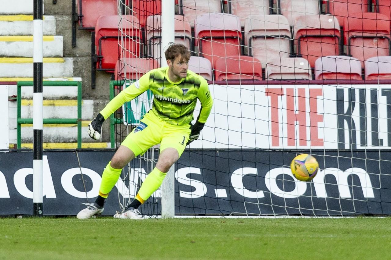 Dunfermline keeper Owain Fon Williams on Raith Rovers clash