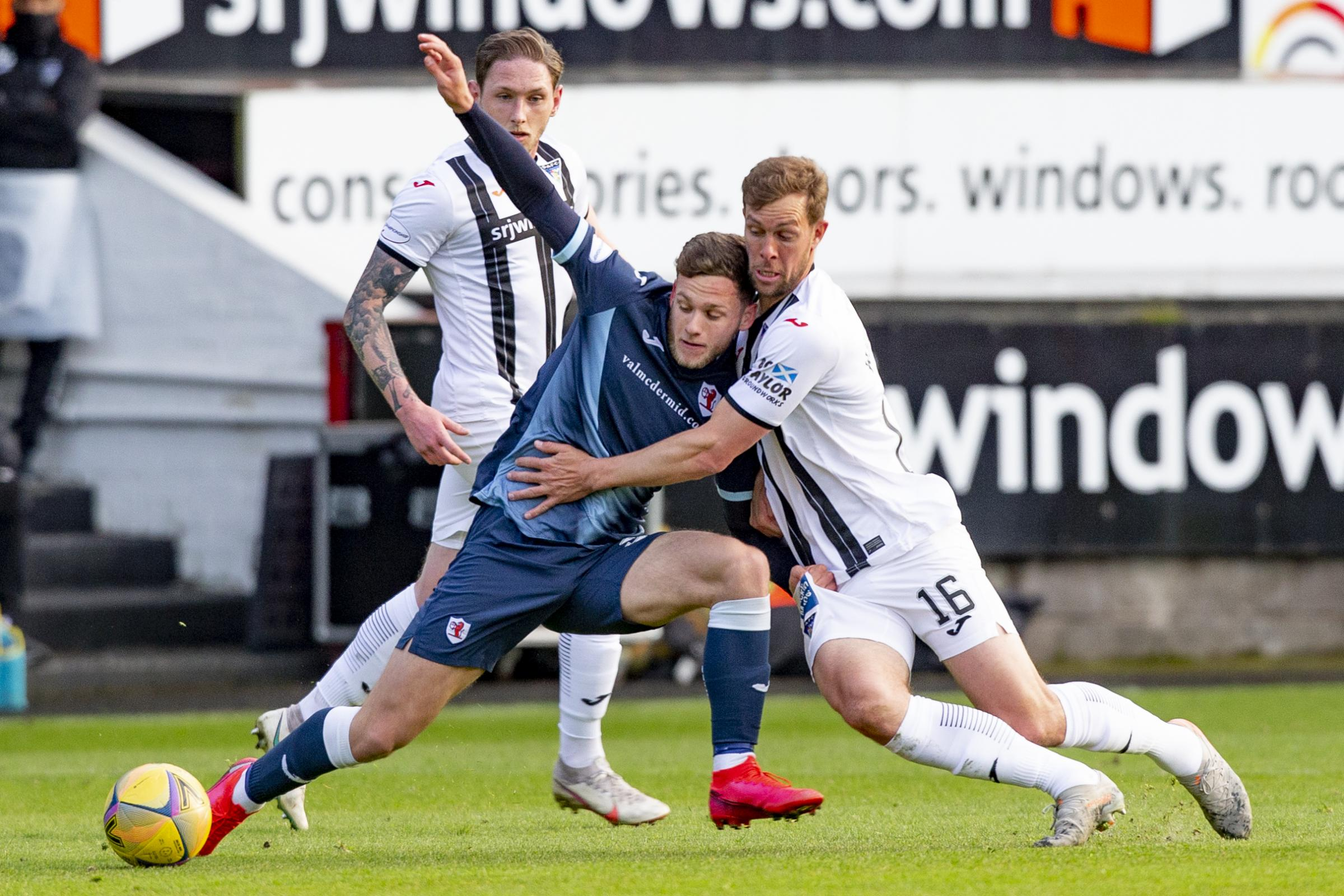 Stevie Crawford wants to do Dunfermline fans proud at Raith