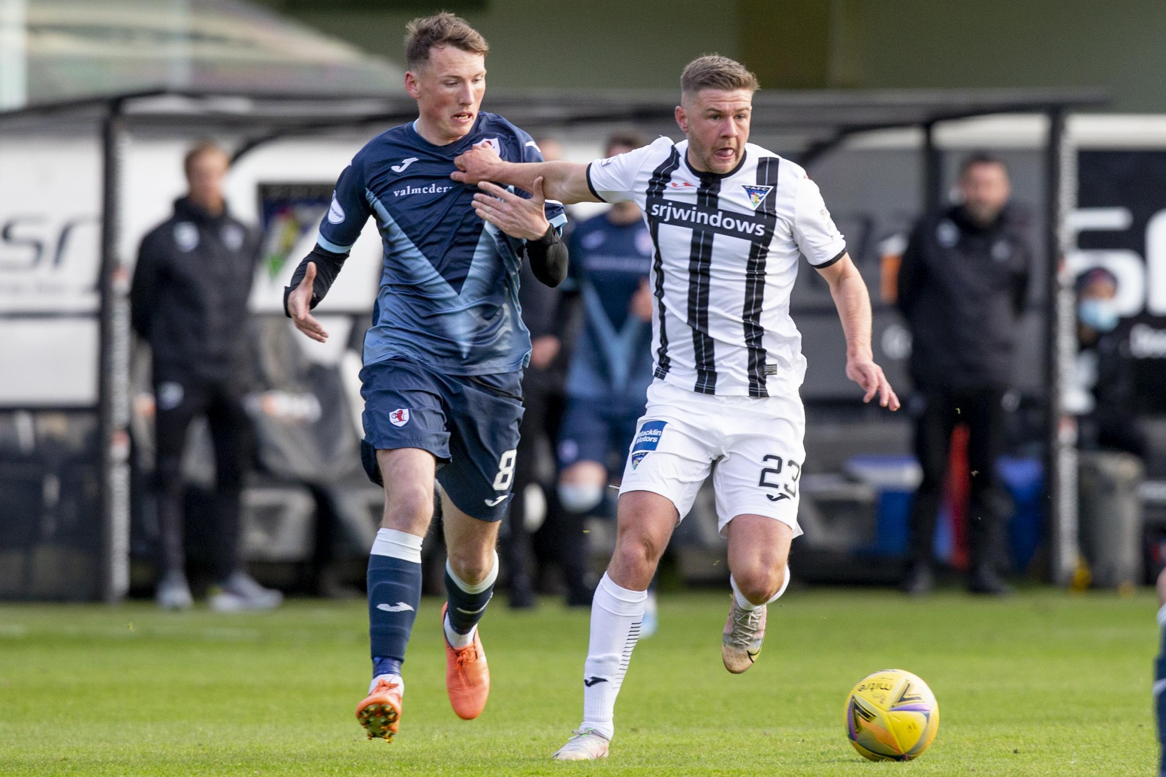 Raith Rovers v Dunfermline: SPFL Premiership play-off live