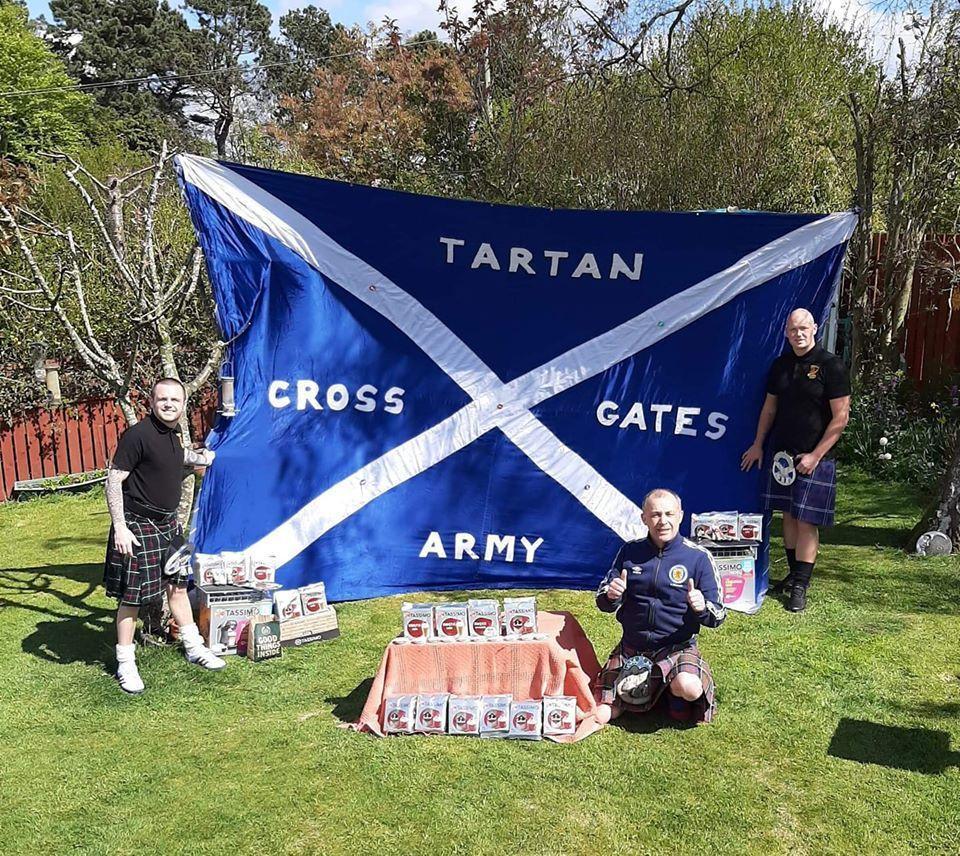 EURO 2020: Scotland supporters Crossgates Tartan Army raise money for charities