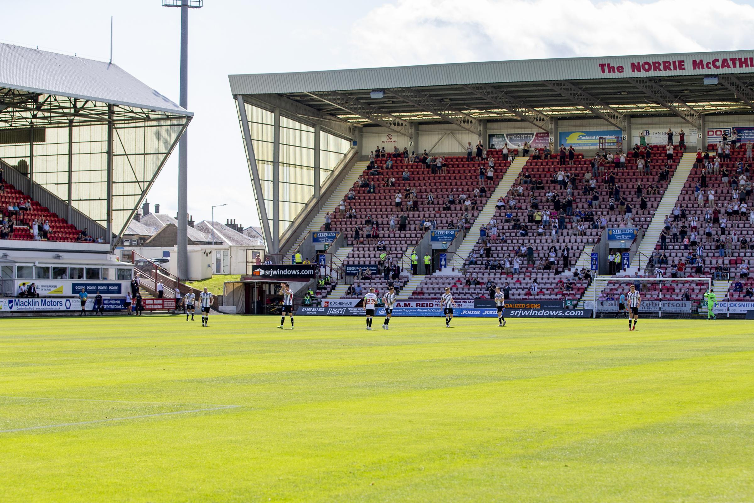 Dunfermline defeat Stenhousemuir in Premier Sports Cup