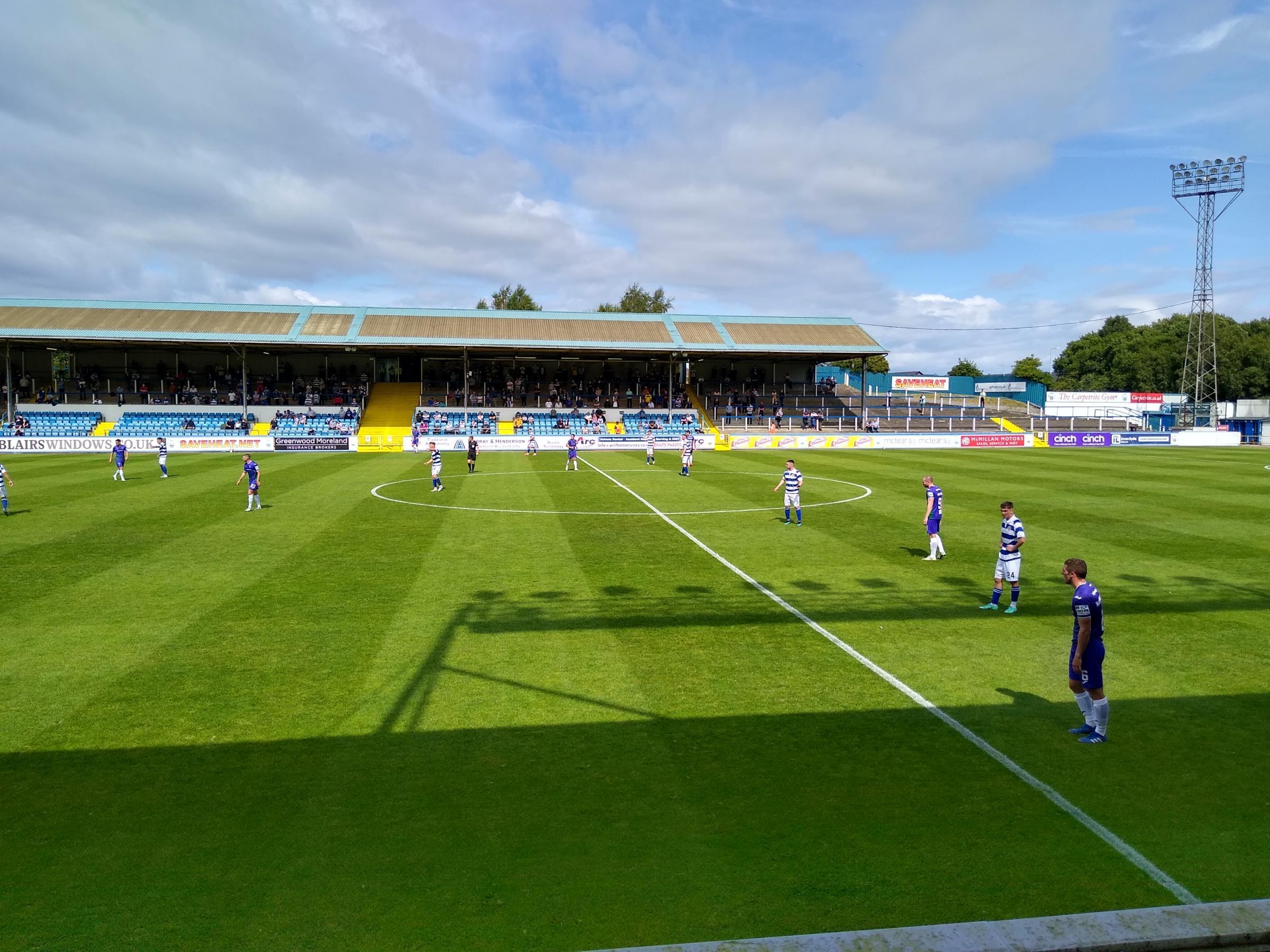Dunfermline draw at Greenock Morton in Championship opener