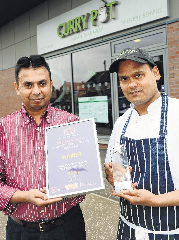 Takeaway Curries Favour With Top Food Award Dunfermline Press