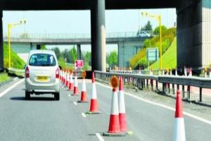 £1m M90 road improvements scheduled over next two months