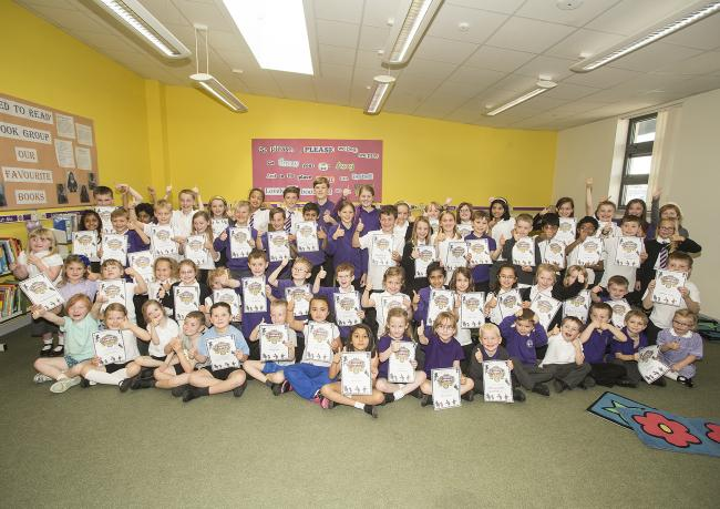 Duloch pupils are rewarded for showing a passion for books