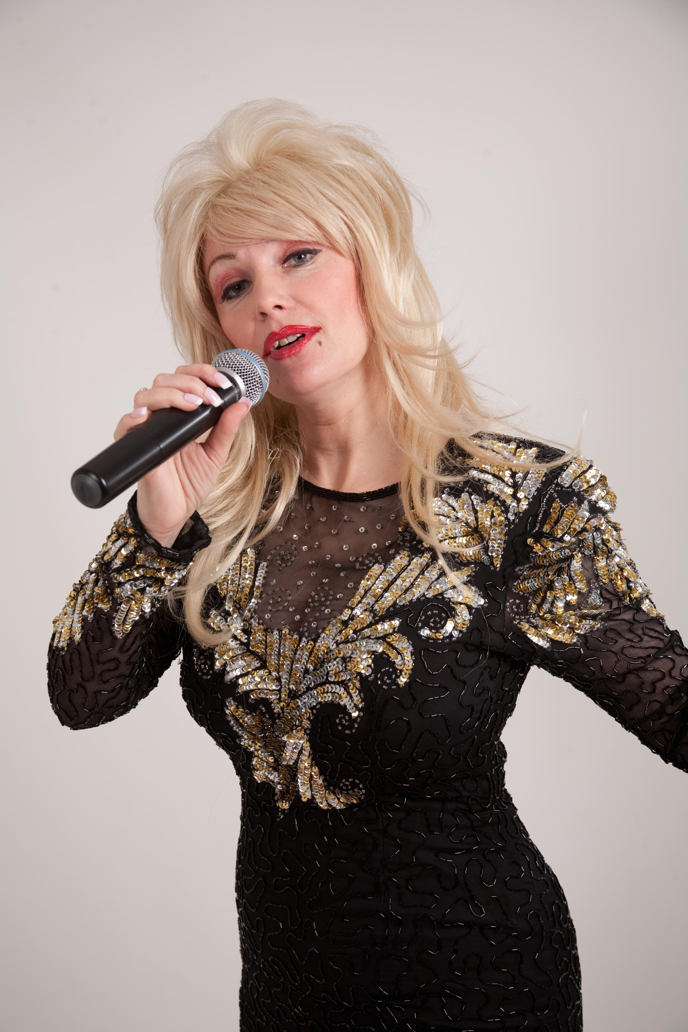 Andrea Pattison stars in the Dolly Parton Show at the Alhambra.