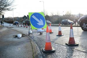 Roadworks set to take place on Admiralty Road