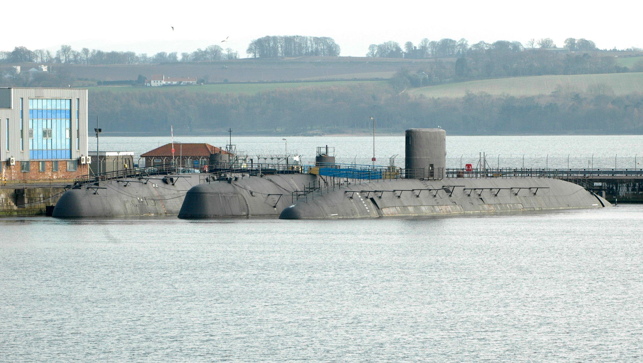 'We're fed up of nuclear submarines rotting in Rosyth' blasts MP