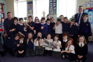 Good news travels fast for Pittencrieff Primary pupils