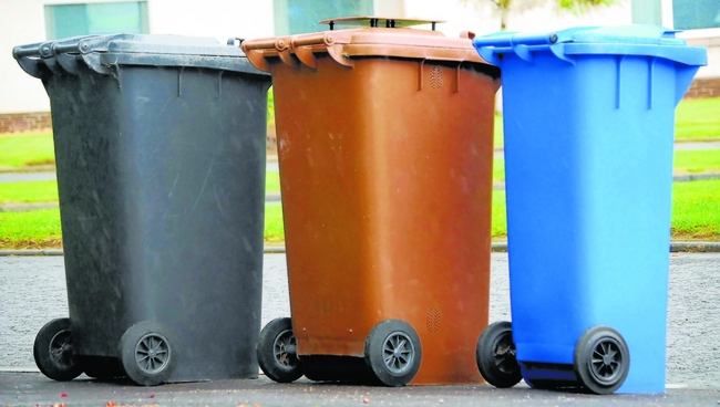 Reporting bin faults to Fife Council 'near impossible'