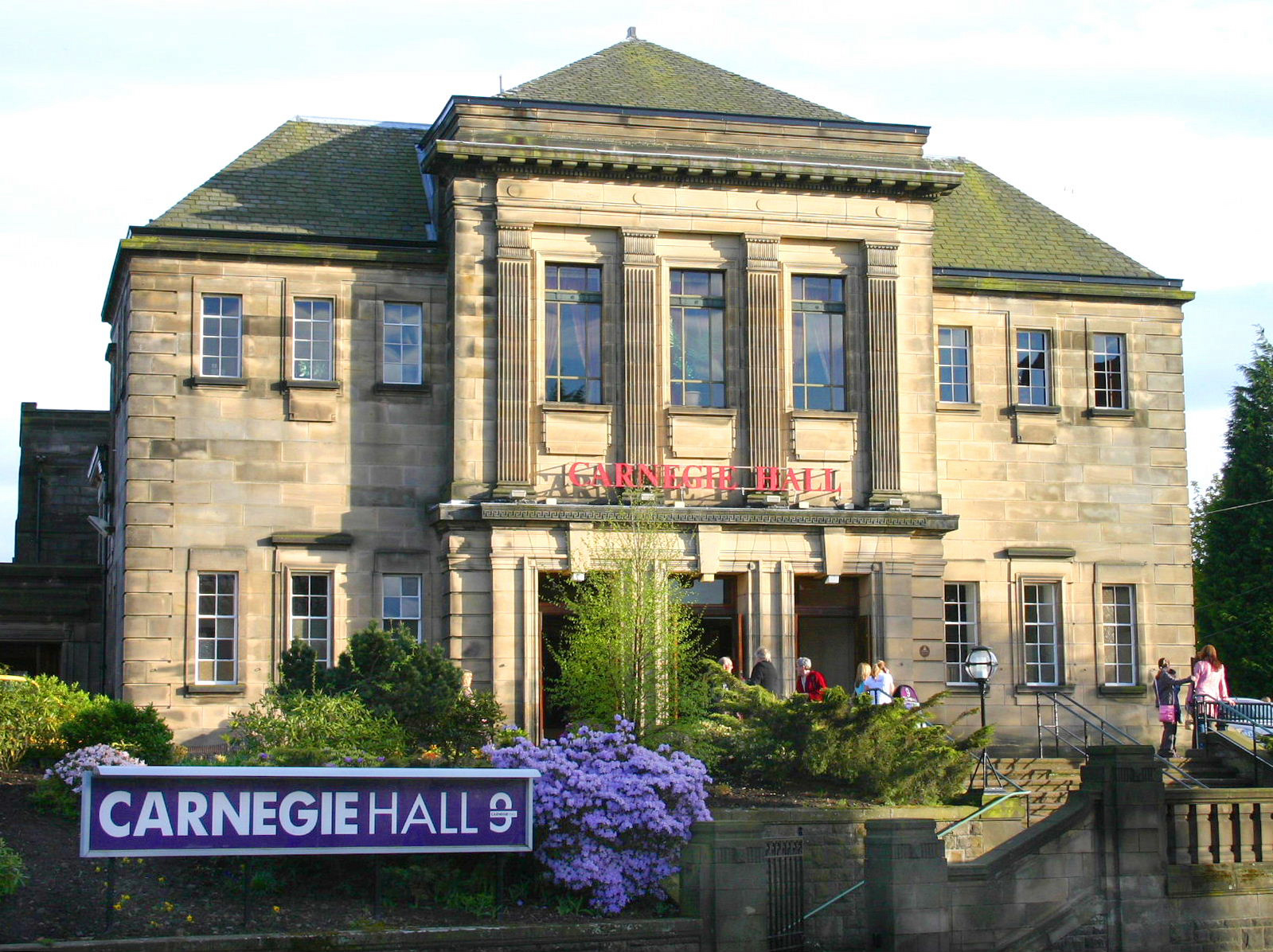 Is Dunfermline's Carnegie Hall one of Scotland's most haunted venues?