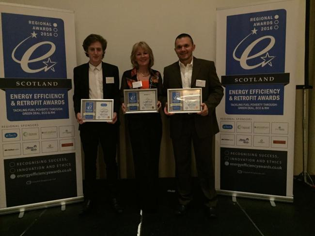 Crossgates Gas picked up a trio of awards recently.