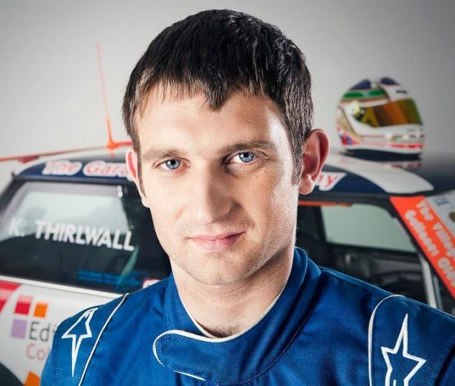 Kenneth Thirlwall is taking to two wheels at Knockhill.
