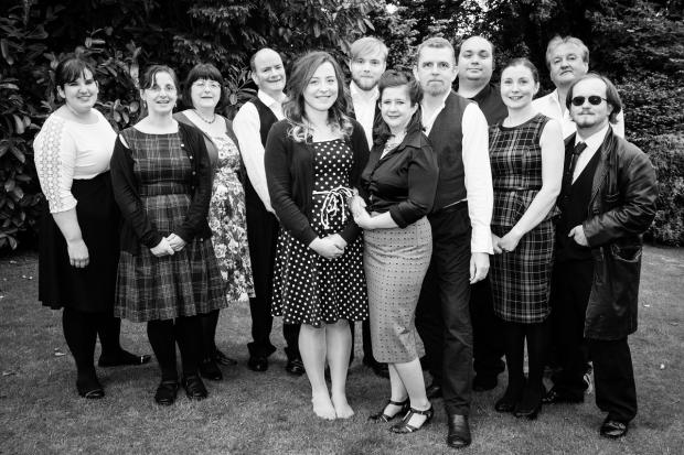 Dunfermline Dramatic Society perform Shakespeare comedy Much Ado About Nothing next week. Photo by Jason Roseweir.