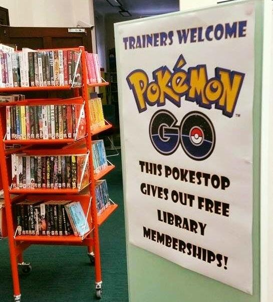 Pokemon libraries