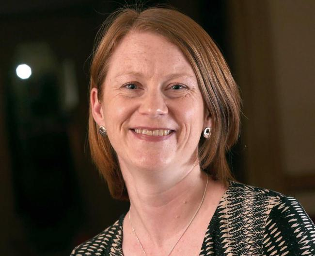 SNP MSP for Dunfermline, Shirley-Anne Somerville.